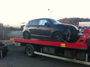 En lämplig aktör att skrota bilen hos måste utses när beslutat att den gamla bilen måste skrotas