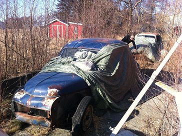 Skrota bilen innan den blir en miljöbov